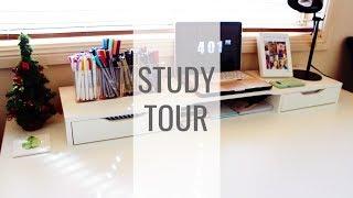 Study Tour || Desk & Bookcase || SociallyChonny ||