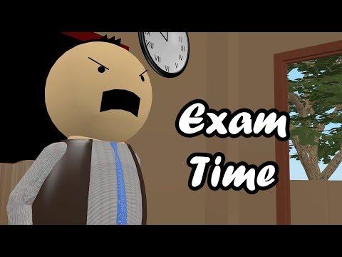 EXAM TIME - THE COMIC KING