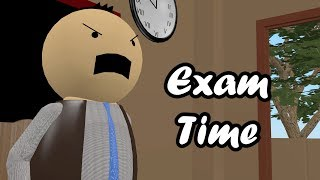 EXAM TIME - THE COMIC KING