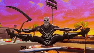 ALL Fortnite Dances WITH PICKAXE In HAND! - SKULL TROOPER Does SEASON 5 DANCES WITH SCYTHE in HAND!