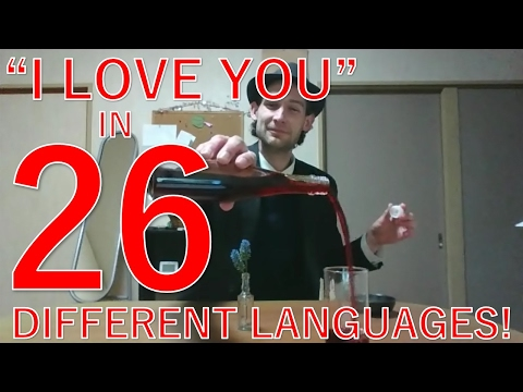 I LOVE YOU in Different Languages - Valentine's Day Special
