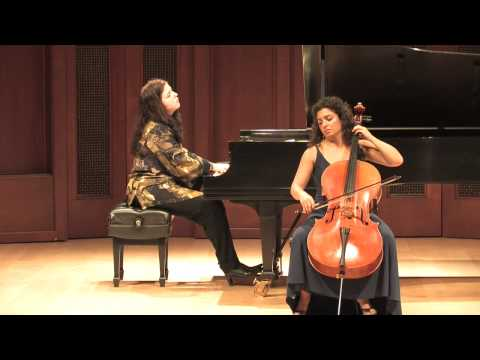 Camerata Pacifica — Auerbach F Major & D Minor Preludes for Cello & Piano, Opus 47