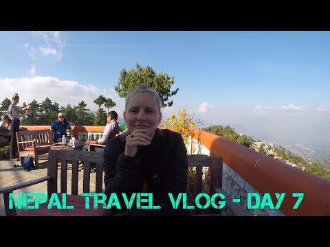 Nepal Travel Vlog Day 7  - Kathmandu to Nagarkot (In search of Himalayan Views)