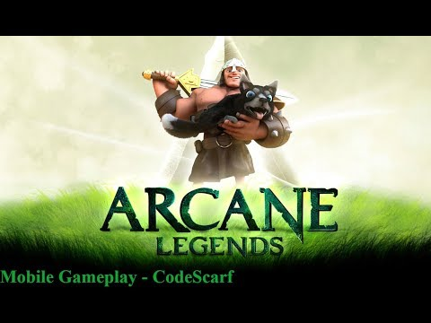 Arcane Legends | Mobile MMORPG| By CodeScarf