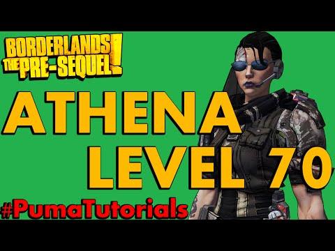 Borderlands: The Pre-Sequel! Athena The Gladiator Level 70 Ultimate Endgame Build #PumaTutorials