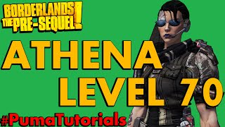 Download lagu Borderlands The Pre Sequel Athena The Gladiator Level 70 Ultimate Endgame Build PumaTutorials MP3