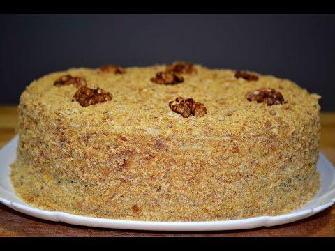 Самый Вкусный Медовый Торт по Рецепту Моей Мамы    Honey cake