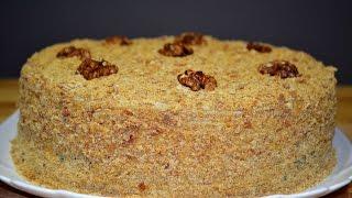 Самый Вкусный Медовый Торт по Рецепту Моей Мамы  | Honey cake