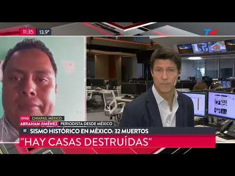 Sismo histórico en México: 32 muertos