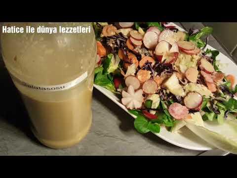 Salata sosu Nar ekşili ve Ballı-Granatapfelsirup Salatsoße