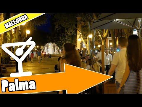 Palma de Majorca Spain:  Evening and nightlife
