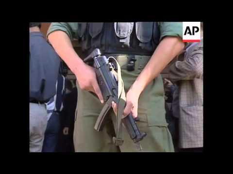 KOSOVO: HASHIM THACI RALLY