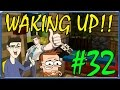 MINECRAFT  WAKING UP!!  UN PIANO INFERNALE!! wSurrealPower & Vegas #32