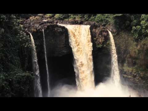 Kayaking Rainbow Falls - Hilo Hawaii - 2013