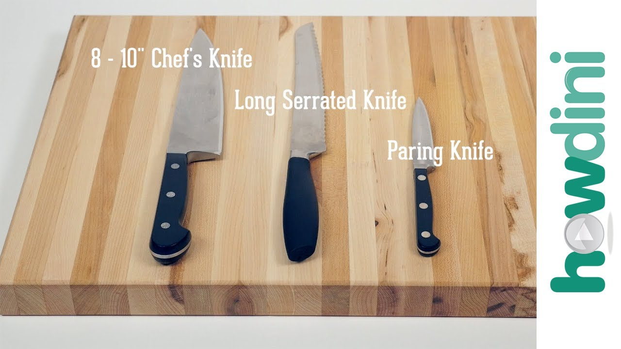 Knife Skills: 3 Knives Every Home Kitchen Should Have