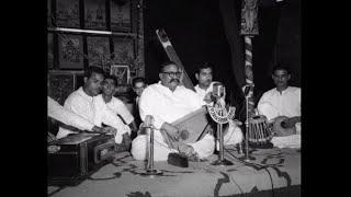 Ustad Bade Ghulam Ali Khan-Raag Malkauns- Rama Navami, Bangalore, 1956