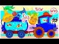 Українська пісня для дітей ЇЗДИТЬ ТРАКТОР ПО ГОРОДУ музичні мультфільми та весела дитяча музика mp3