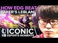 ICONIC Esports Moments: How EDG beat Faker's LeBlanc at MSI 2015