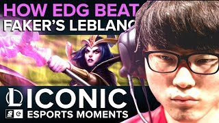 ICONIC Esports Moments: How EDG beat Faker's LeBlanc at MSI 2015