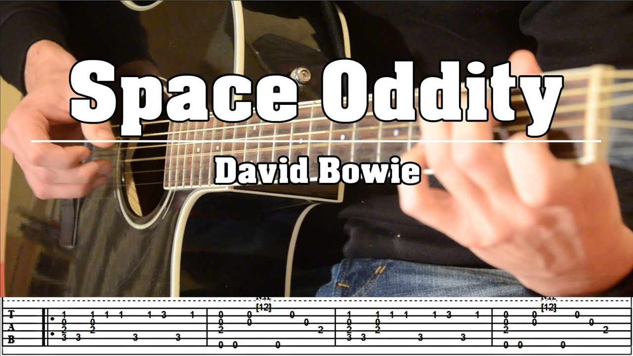 Space Oddity David Bowie Fingerstyle Cover With Tabs Youtube