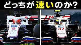 【F1 2021】角田裕毅の同期!ハースMシューマッハとマゼピンはどっちが速いのか…データで検証してみた!