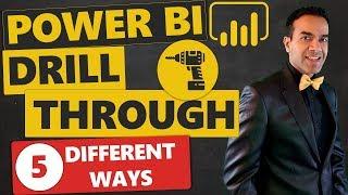Power BI Drill Thr๐ugh 5 Different Ways! Do You Know Them All?