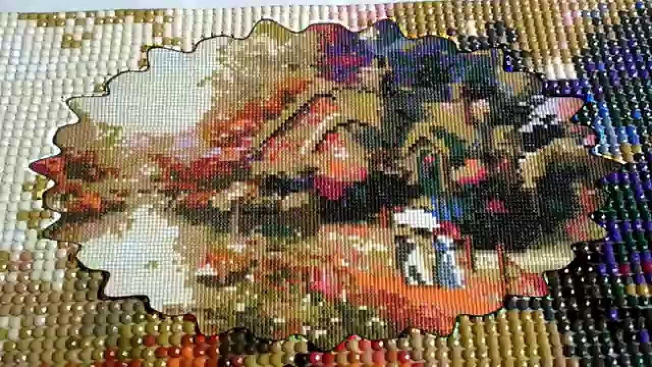 Вышивка алмазная мозаика по фото