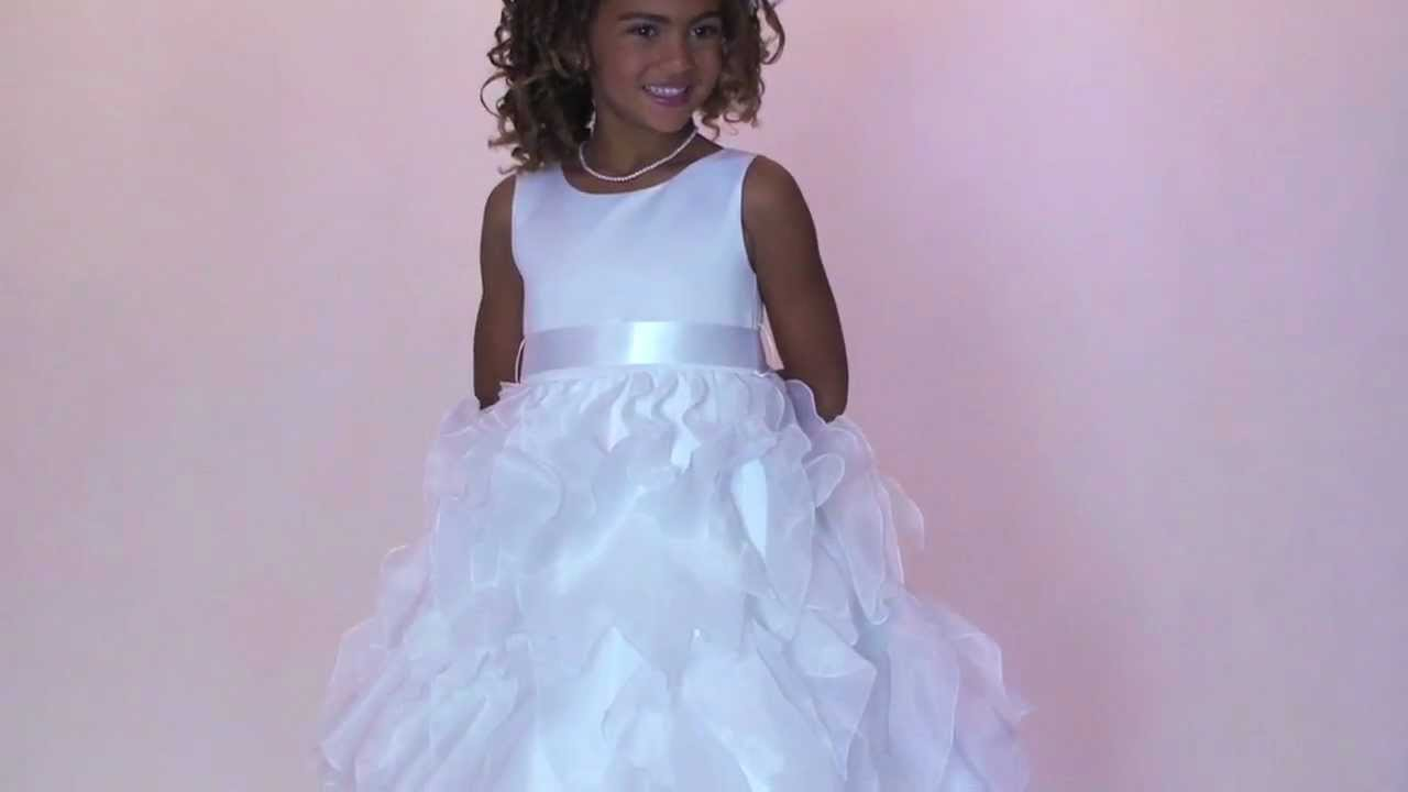 0fe52320b Flower Girl Dress Style 888 - BUILD YOUR OWN DRESS in Choice of ...
