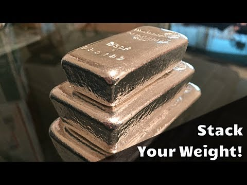Stacking Your Weight in Silver