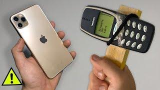 iPHONE 11 Pro VS NOKIA 3310 !!