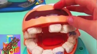 Мистер Зубастик от Play-Doh набор пластелина для детей игра в стоматолога демонстрация часть 1(Мистер Зубастик от Play-Doh набор пластелина для детей игра в стоматолога демонстрация часть 1 подпишись на..., 2015-04-17T15:35:21.000Z)