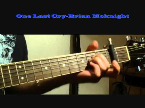 One Last Cry Brian Mcknight Cover Youtube