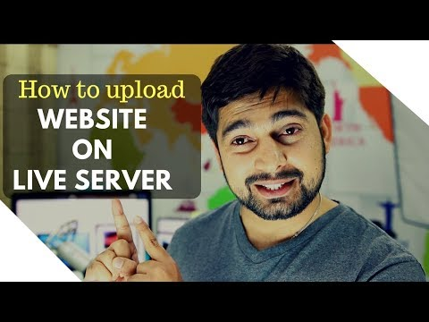 How to upload your website to live server – Cpanel