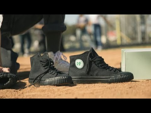 e46422ce22ab New Balance x PF Flyers - The Sandlot 25th Anniversary Pack - YouTube