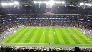 Totthenam-Juventus minuto di silenzio  Wembley Studium