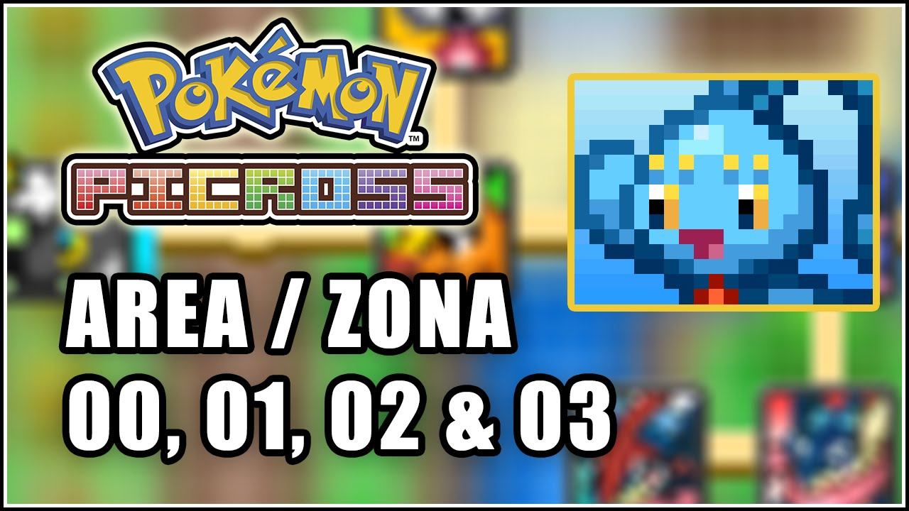 Pok mon picross solutions zona area 00 01 02 03 for Mural 01 pokemon picross