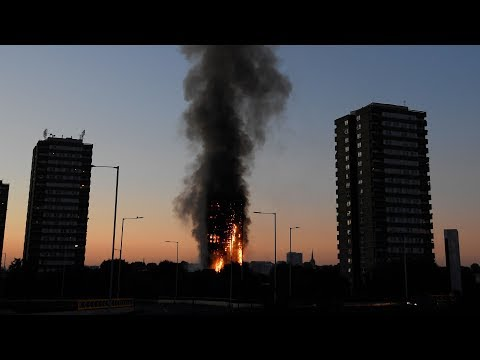 Witness to London highrise fire hears 'shouting, screaming'