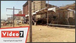 القمامة والماعز تحاصران نادى جامعة عين شمس