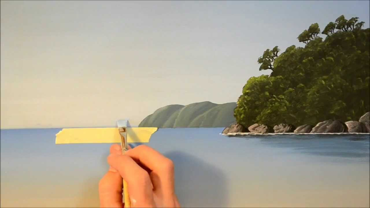 How to Show Distance in Seascape Paintings  YouTube