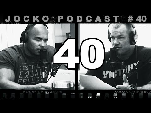 Jocko Podcast 40 w/ Echo Charles - The Right Way to Avoid Conflict | Dealing w/ Threatening People