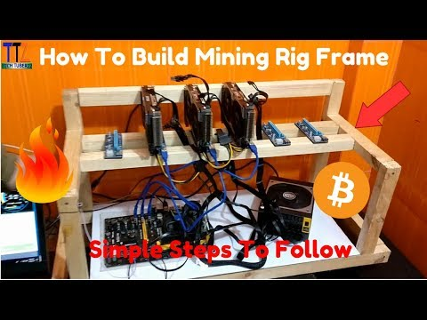 How To Build A Mining Rig Frame At Home - Cheap And Best Under Rs.600/-