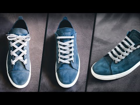 Top Shoes Lace Styles   9 Creative