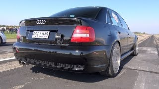 1100HP+ Audi (R)S4 Limo Hannover Hardcore - INSANE SOUNDS!