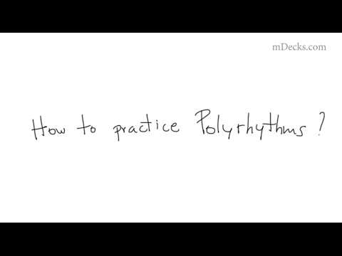 How to Practice Polyrhythms Music Education Video