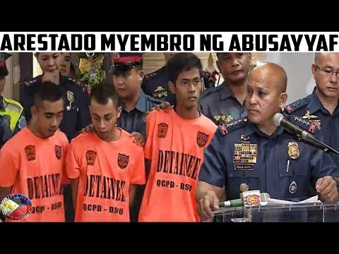 NOVEMBER 17, 2017 - ARESTADO ANG TATLONG KUMAG NA ABU-SA-YYAF ! PNP PRESS BRIEFING