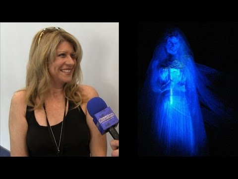 Interview with voice of Haunted Mansion Bride, Constance