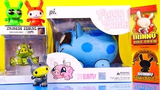 Joe Ledbetter Piggy Bank Chinese Zodiac Figure Unboxing Kidrobot Dunny Toys By Disney Cars Toy Club