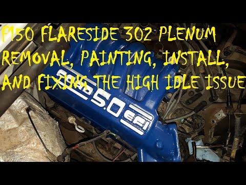 1994 f150 Flareside - High Idle. Plenum Leak?