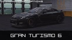 Gran Turismo 6 - Customization Options
