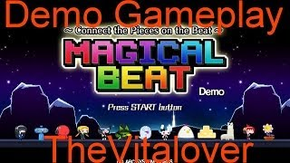 PS Vita- Magical Beat Demo Gameplay!